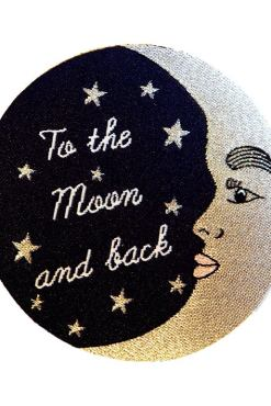Rosie Wonders - Moon Iron On Patch