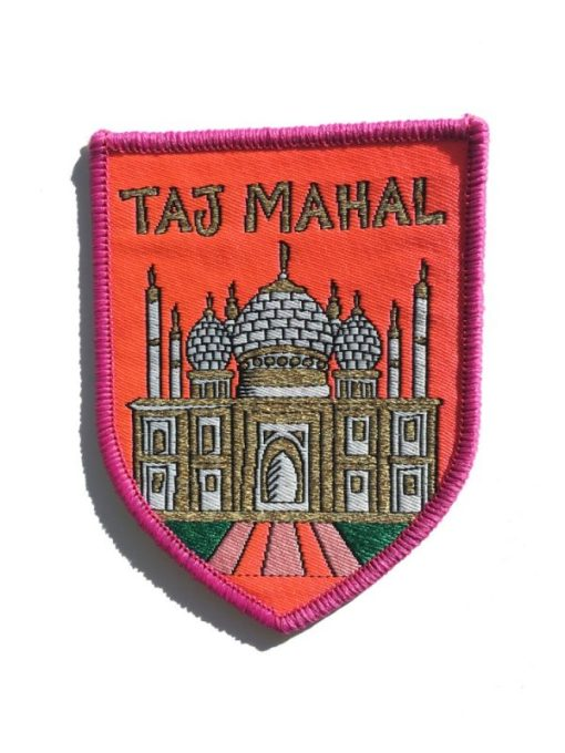 Rosie Wonders - Taj Mahal Iron On Patch