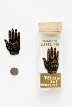 Yellow Owl Workshop - Mystic Hand Magnetic Lapel Pin