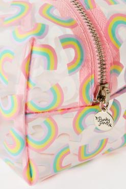 Punky Pins - Pastel Rainbow Make Up Bag