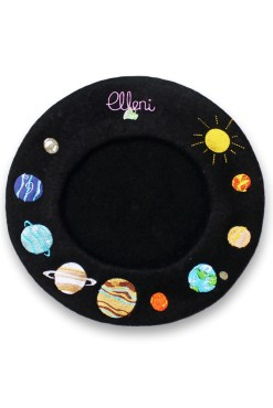 Elleni the Label - Solar System Beret