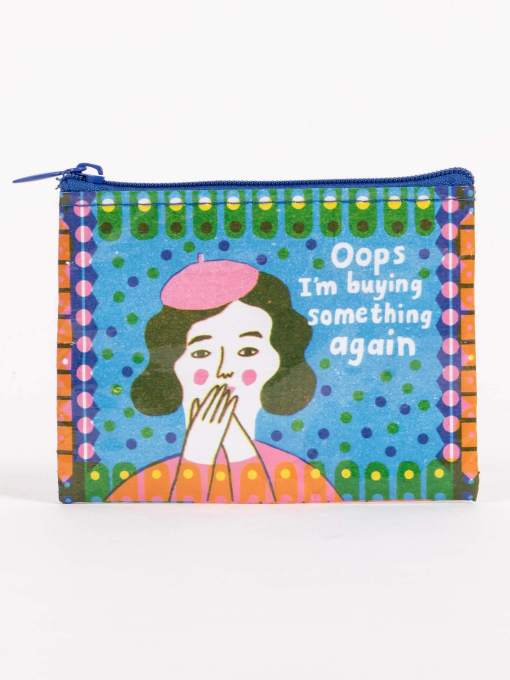 Blue Q - Oops, I'm Buying Something Again Coin Purse