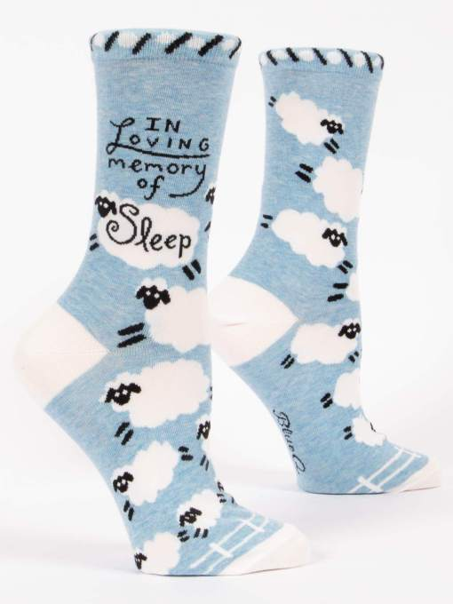Blue Q - In Loving Memory of Sleep Socks