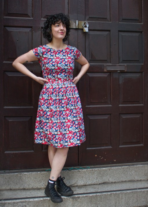 Run & Fly - Record Collector Dress in Green