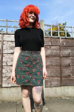 Run & Fly - Fox Twill Skirt
