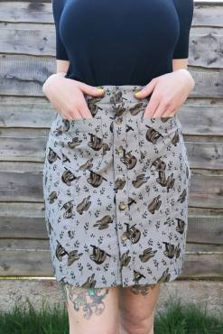 Run & Fly - Sloth Twill Skirt
