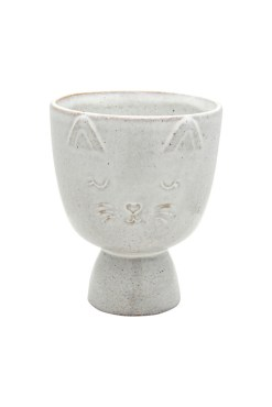 Sass & Belle - Speckled Cat Planter