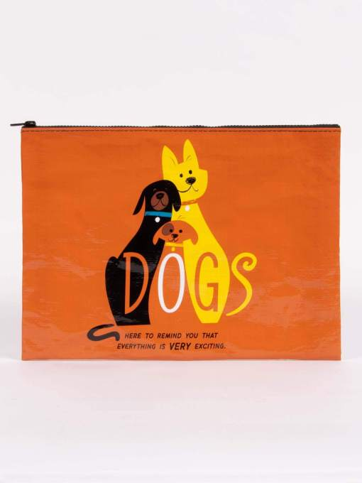 Blue Q - Dogs Jumbo Pouch