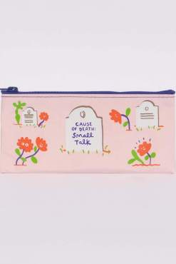 Blue Q - Cause of Death: Small Talk Pencil Case