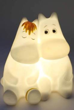 House of Disaster - Moomin & Snorkmaiden Love Mini LED Lamp
