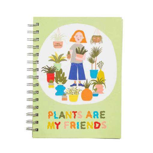 Sass & Belle - Plants Are My Friends A5 Notebook