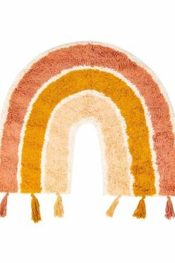 Sass & Belle - Earth Rainbow Tassel Rug