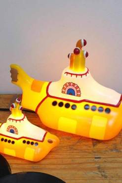 House of Disaster - Mini Yellow Submarine LED Lamp
