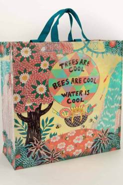Blue Q - Trees & Bees Shopper