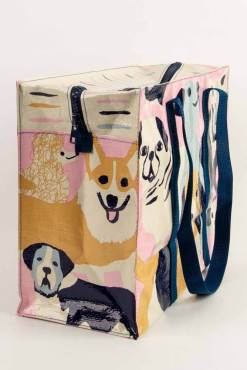 Blue Q - Happy Dogs Shoulder Tote