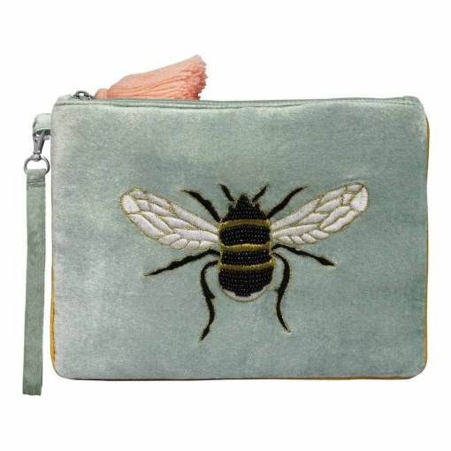 House of Disaster - Eden Pouch with Bee Design