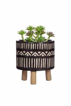 Sass & Belle - Black Nala Leggy Planter