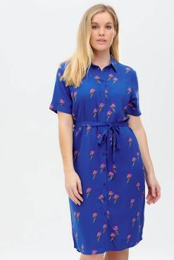 Sugarhill Brighton - Justine Rainbow Lightning Shirt Dress