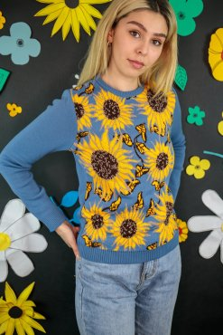 Run & Fly - Unisex Sunflower Jumper