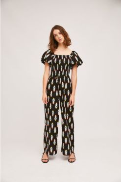 Compañia Fantastica - Black Rocket Jumpsuit
