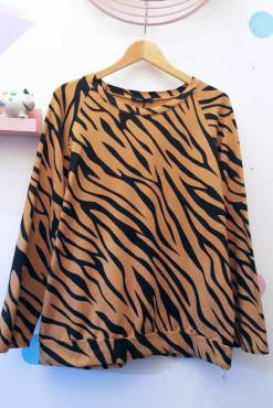 Thunder Egg - Brown Tiger Sweater