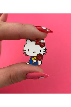 Erstwilder - Hello Kitty Lollipop Enamel Pin