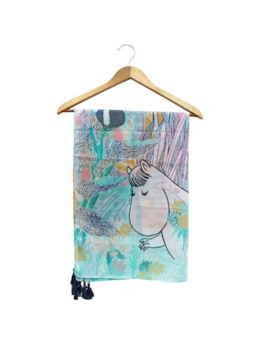 House of Disaster - Pastel Moomin Scarf