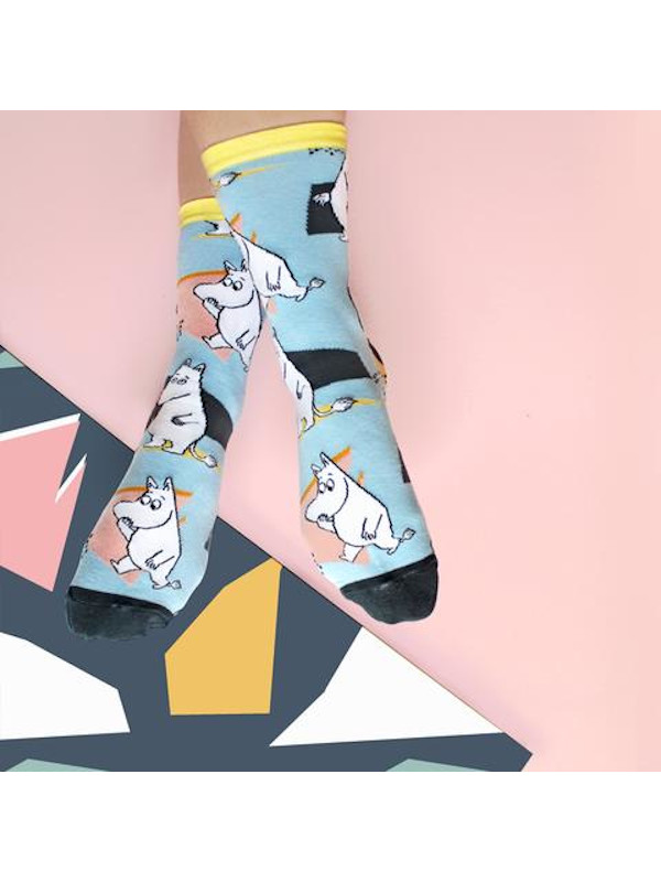 House of Disaster - Abstract Moomin Socks