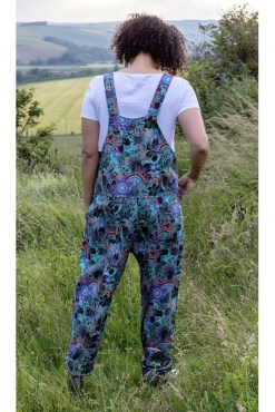 Run & Fly - Stretch Twill Jurassic Dungarees