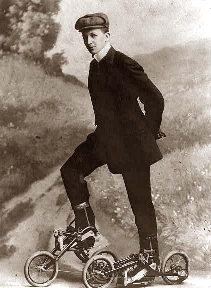 Skates-Pedal