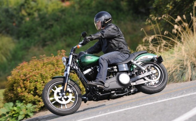 Go green! H-D's new Hard Candy Custom Lucky Green Flake, that is