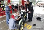 #11 Dean Bordigioni gets repairs on his '23 H-D