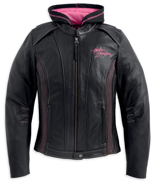Harley-Davidson Pink Label 3-in-1 Leather Jacket
