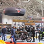 Victory Motorcycles Booth at the Minneapolis IMS