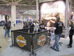 Recruiting new riders at H-D's Jumpstart Experience