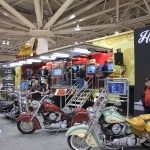 Indian Motorcycle's display at Minneapolis IMS