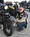 #93 Scott Jacobs and his '26 H-D