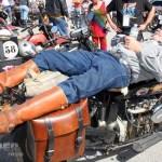 #49 Frank Westfall getting some valuable shut-eye