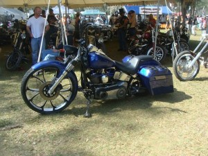 Some bold flavor on this badass bagger