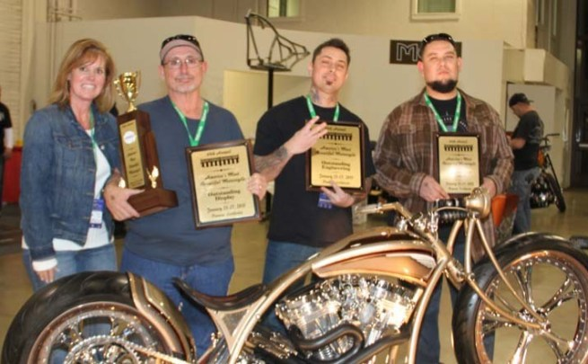 64th Grand National Roadster Show - America's Most Beautiful Motorcycle