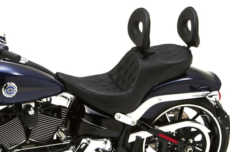 Corbin Dual Tour Saddle for Softail Breakout