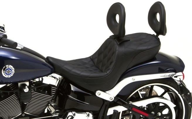 Corbin Dual Tour Saddle for Softail Breakout