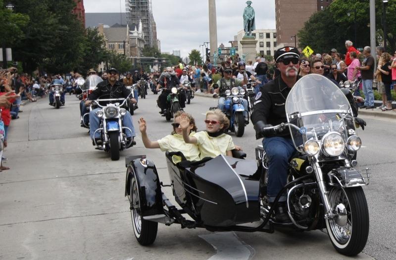 Harley-Davidson's 110th Anniversary Parade