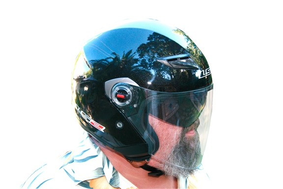 LS2 OF569 open-face helmet