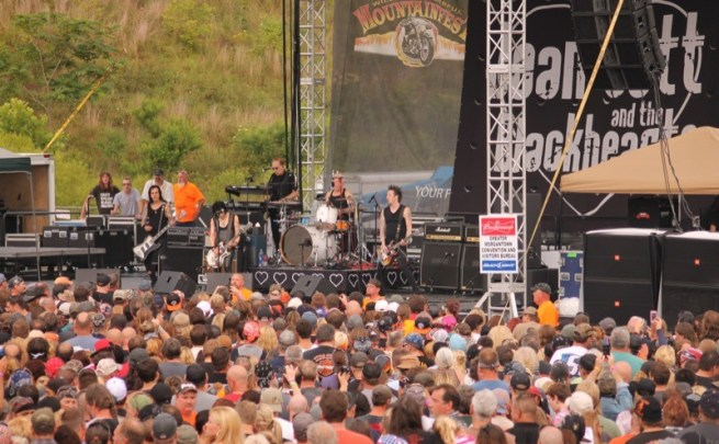 Joan Jett and the Blackhearts rock the main stage at Mylan Park