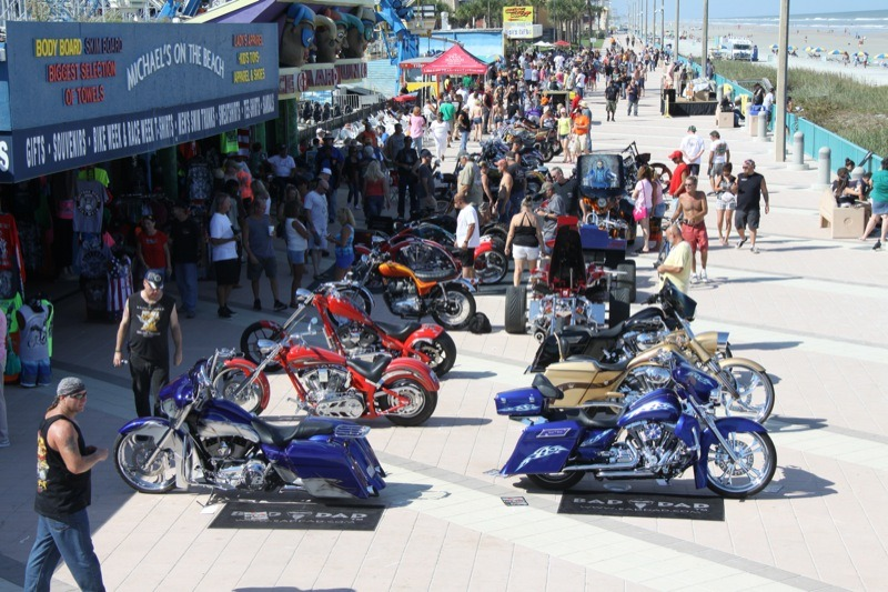 21st annual Biketoberfest Boardwalk Bike Show