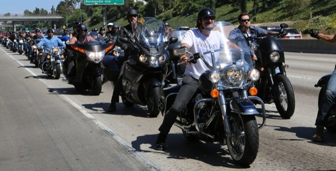 3rd annual Boot Ride with the Sons of Anarchy