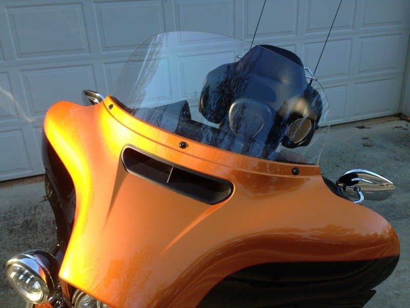 F4 Customs Windshields for all 2014 Project Rushmore Batwing Fairings