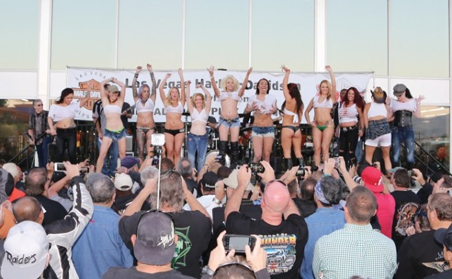 13th annual Las Vegas BikeFest - Wet T-shirt Contest at Las Vegas H-D