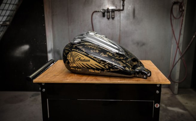 Indian Chieftain Tank to Benefit YMCA of the Twin Cities